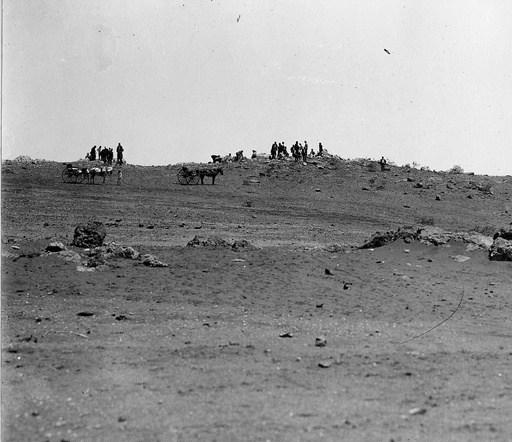 Cable Hill Broken Hill 1915 a degraded landscape Source: SLSA
