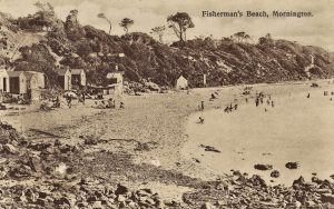 Fishermans Beach Mornington approximately 1909 Source: State Library Victoria