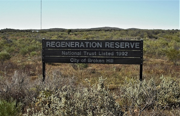 A Broken Hill regeneration reserve 2017 Source: P Ardill